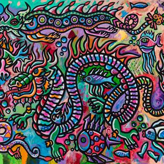 Dragon On The Lake