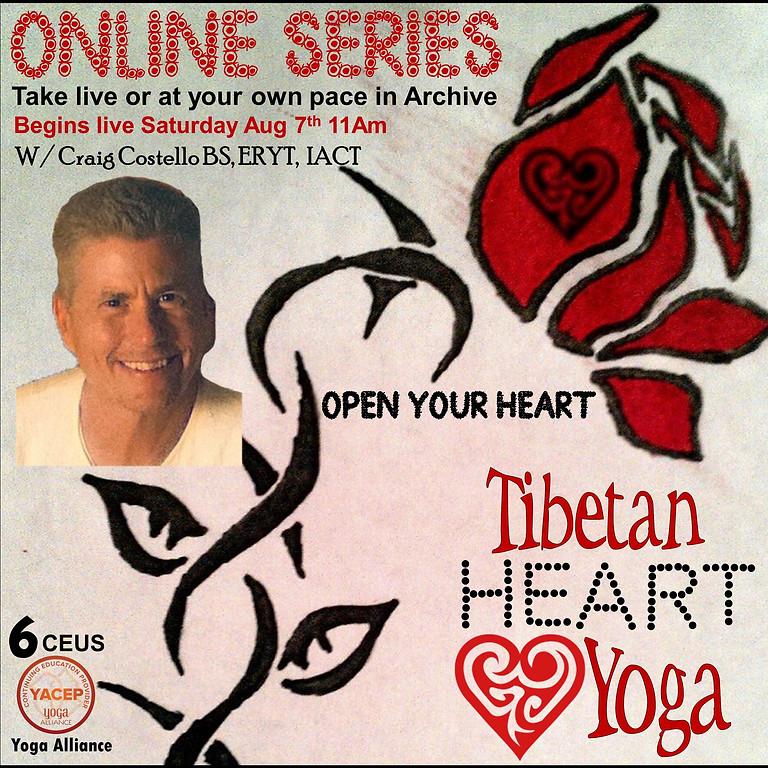 Online Tibetan Heart Yoga Series