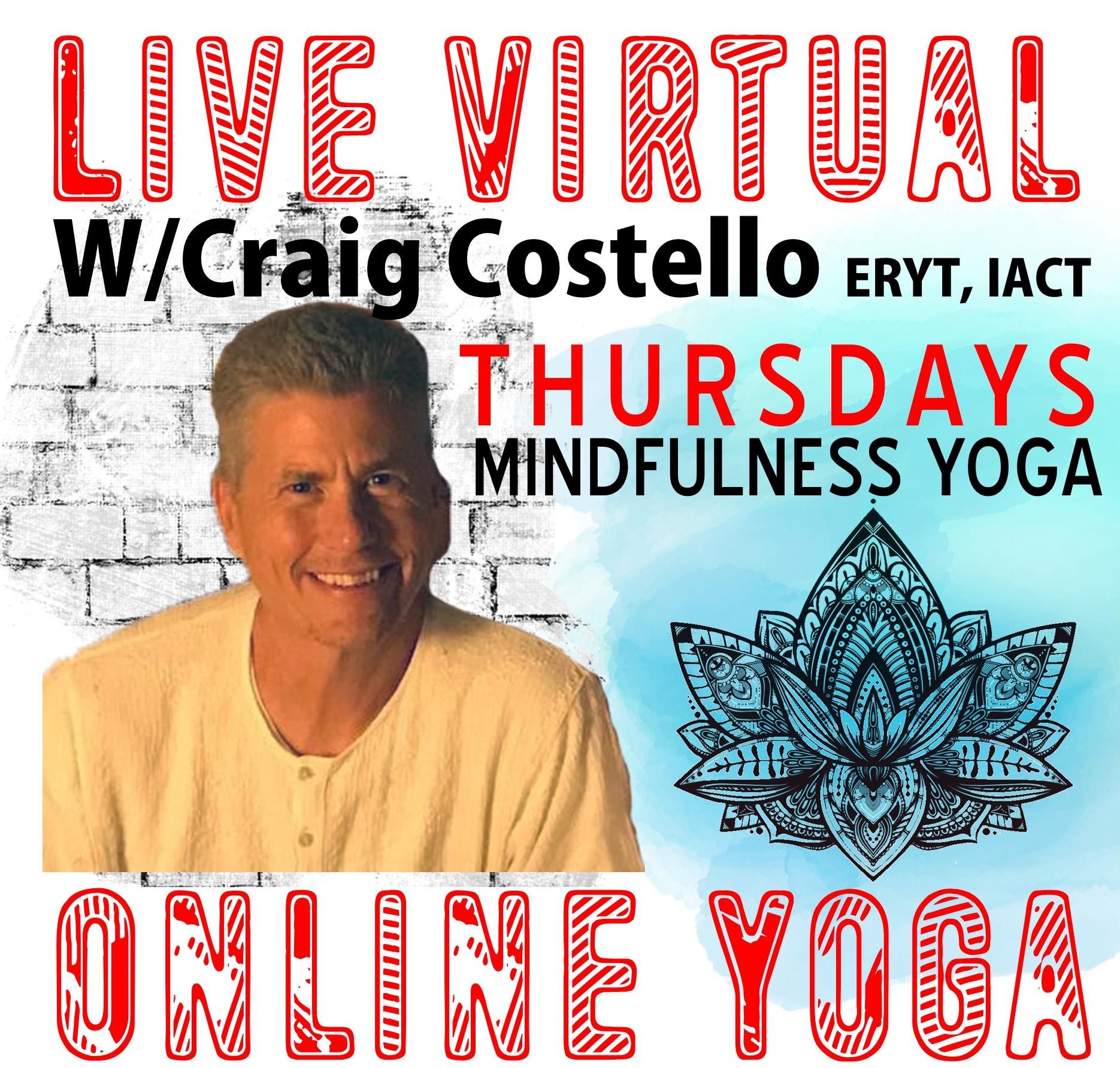 Mindfulness Yoga W/Craig Costello