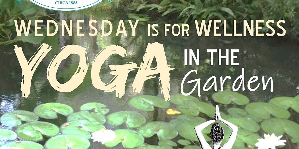 Yoga In The Garden...Wednsday is for Wellness @ Sweetwater Branch Inn