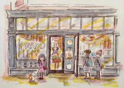 Prado cafe, Gastown