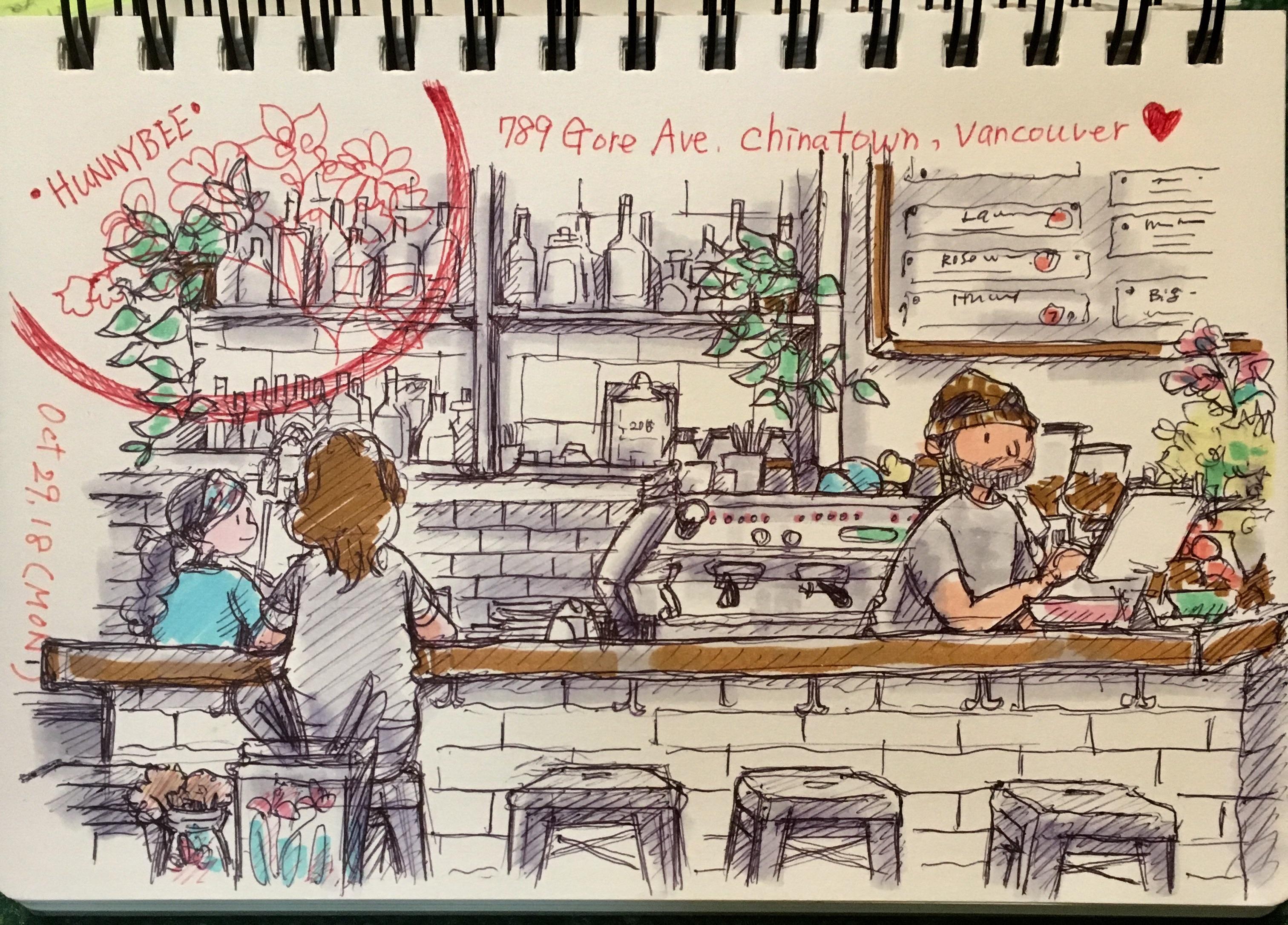 Hunnybee Cafe