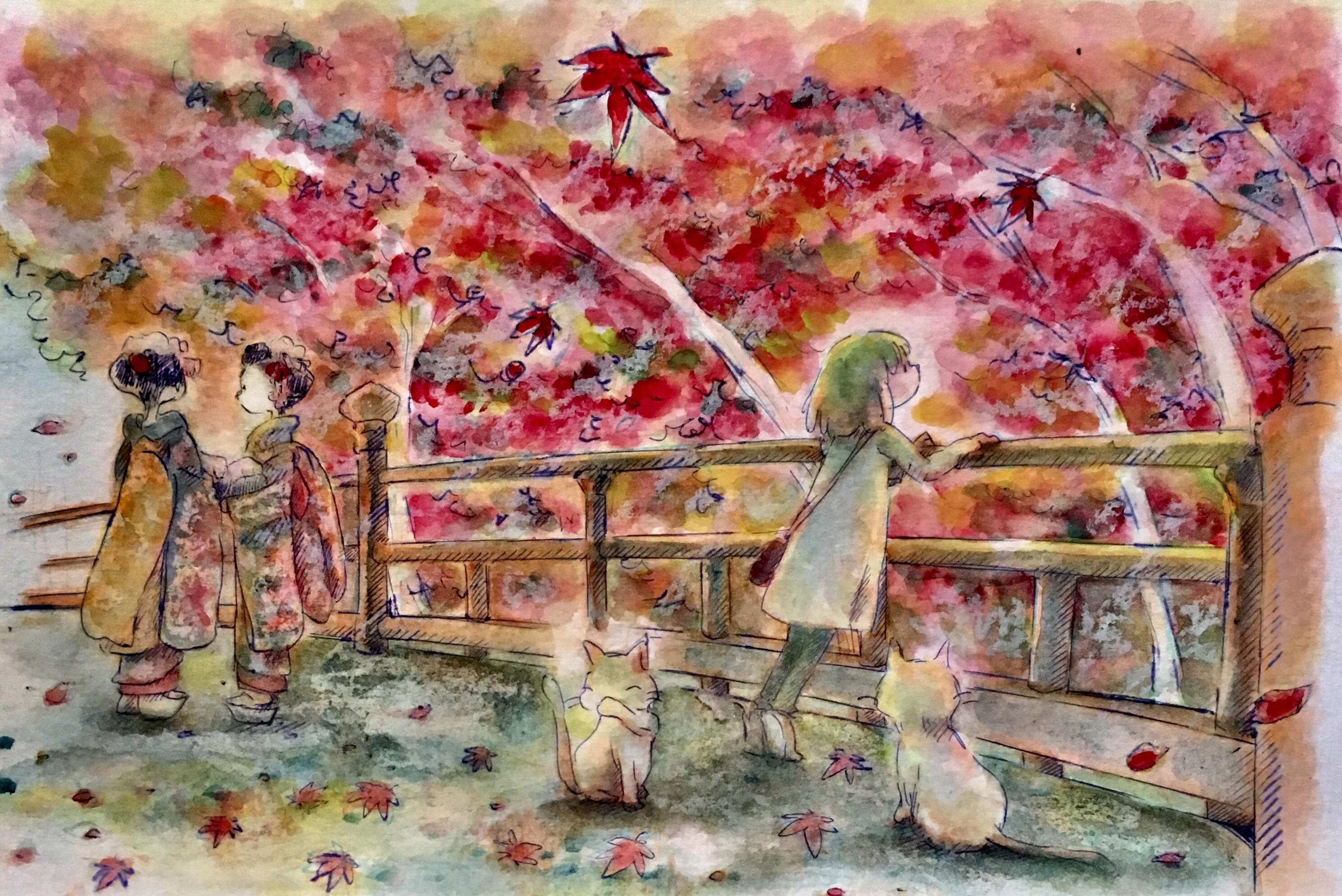 Autumn Leaves, Kyoto