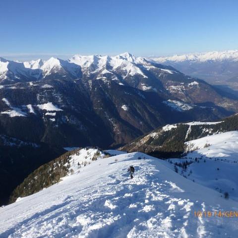 Monte Legui - Silvano e Lorella - 14/01/