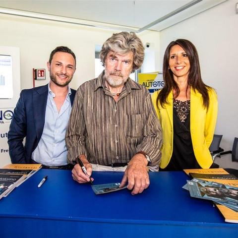 Messner in AUTOTORINO e in Fiorida