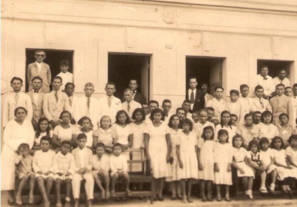 Membros fundadores da Igreja em São José de Mipibú.
