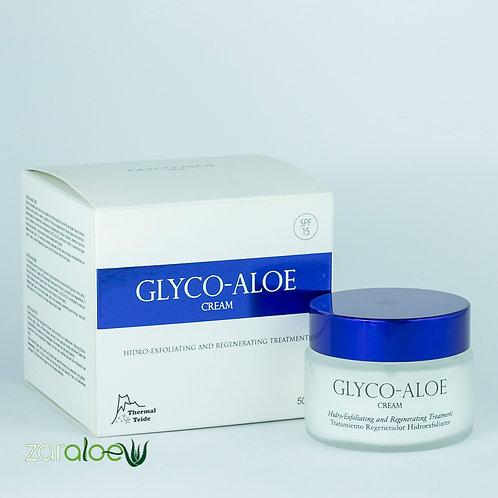 Glyco-Aloe Crema Exfoliante Facial