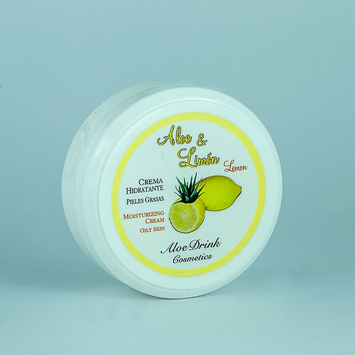 Crema Aloe Vera + Limón. 150 ml.