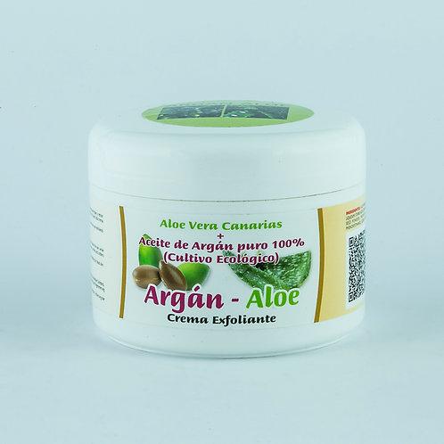 Crema Exfoliante Corporal Aloe-Argán