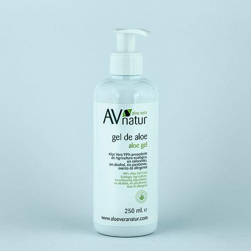Gel Dermátologico de Aloe Vera 99%  - 250 ml