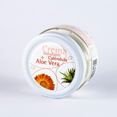Crema de Caléndula y Aloe Vera. 120 ml.