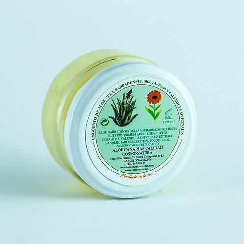 Ungüento Psoriasis Aloe Vera + Caléndula. 120 ml.