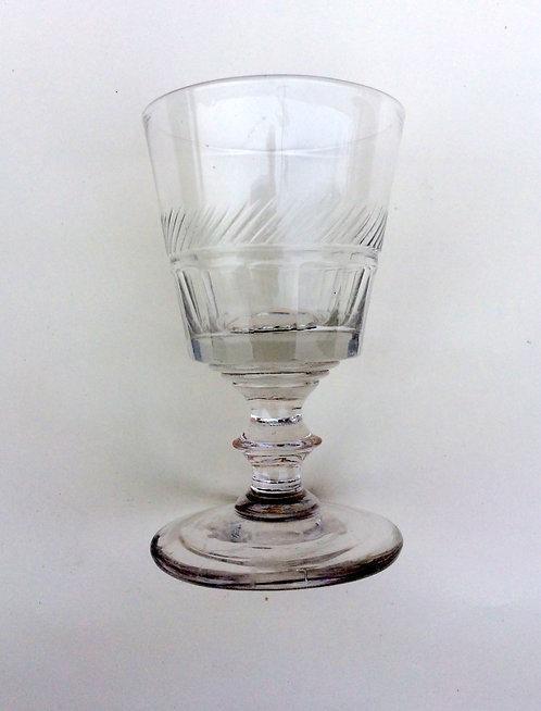 A good Victorian small glass rummer.