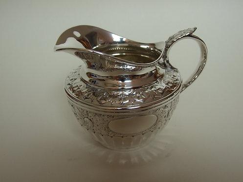 A good quality Victorian silver cream jug.