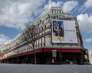 Réouverture des Galeries Lafayette