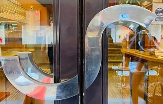 Poignets porte principale Sofa Café