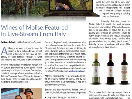 Meet The Producer: Antonio Valerio of Campi Valerio in Molise, Italy