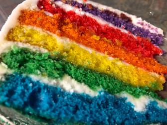 Unicorn Cake Slice