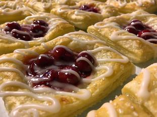 Cherry Cheese Danish