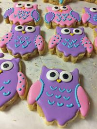 Owl - Sugar Royal Icing
