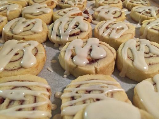 Cinnamon Swirl Shortbread