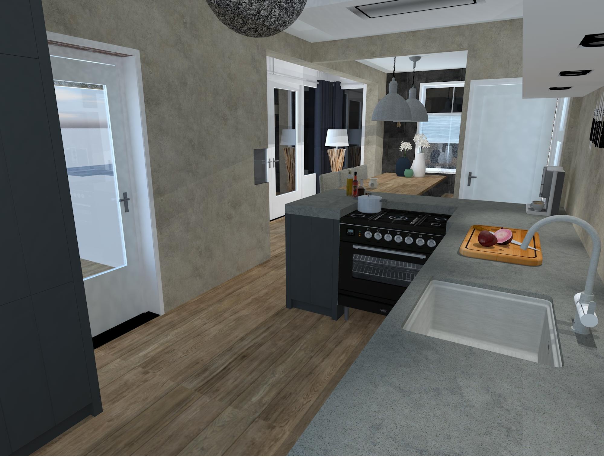 Sfeerbeeld keukenblok
