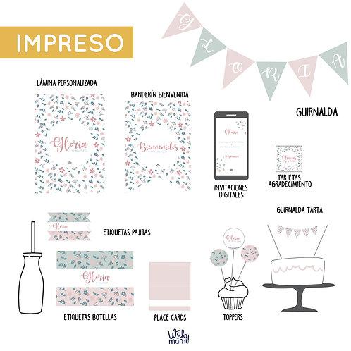 PARTY KIT IMPRESO - LIBERTY