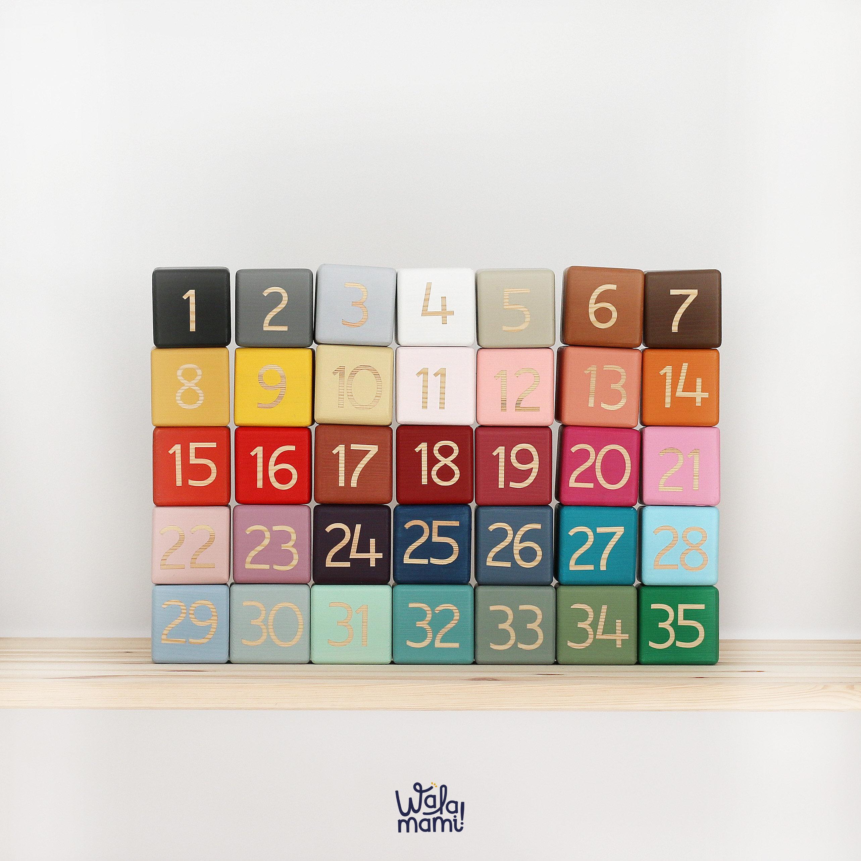 cec3cdafaa16 Nombre Cubos de Madera | walamami