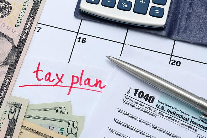 1040 individual tax form, money, calcula