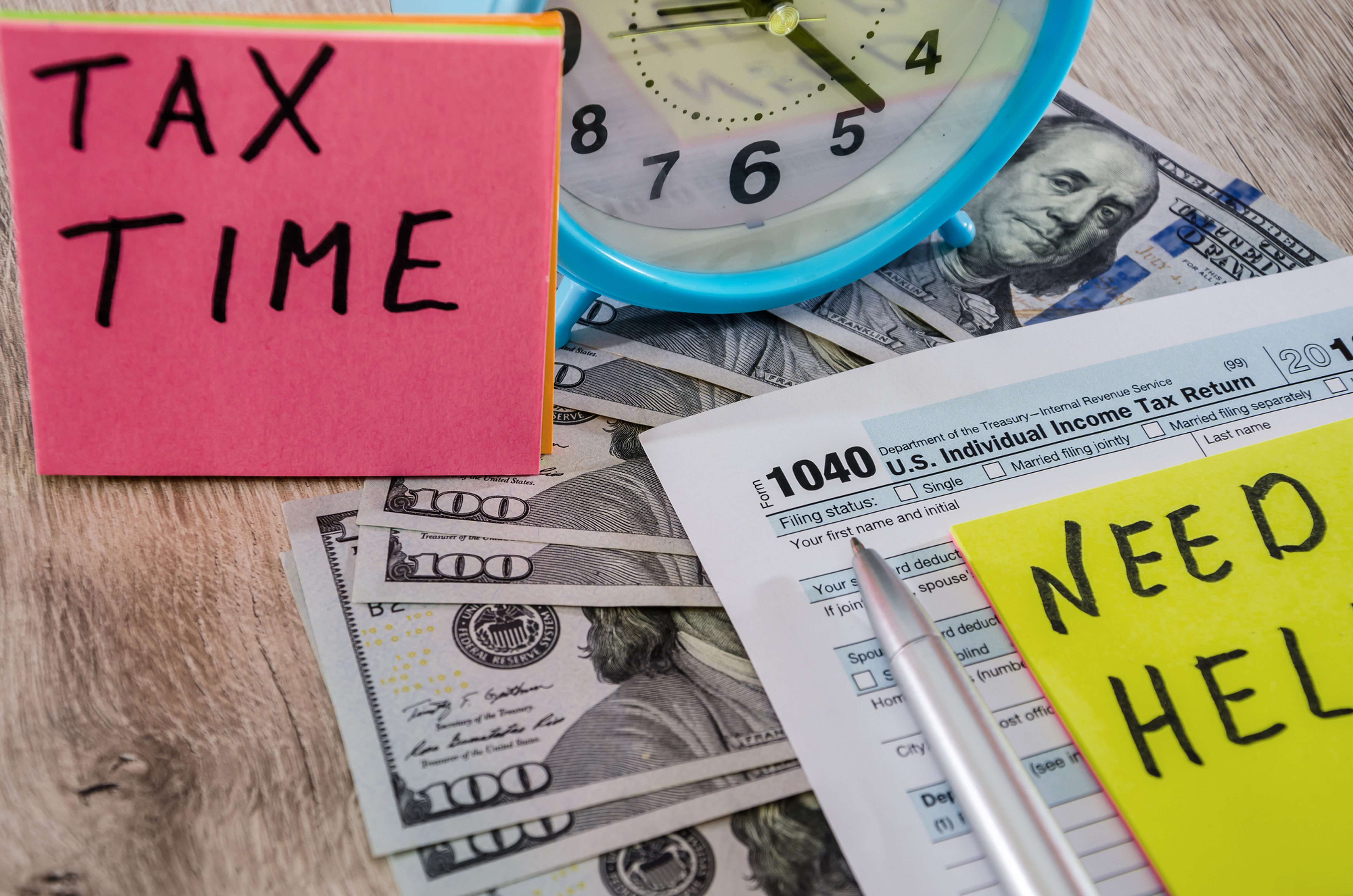 Form 1040 Individual Tax Preparation
