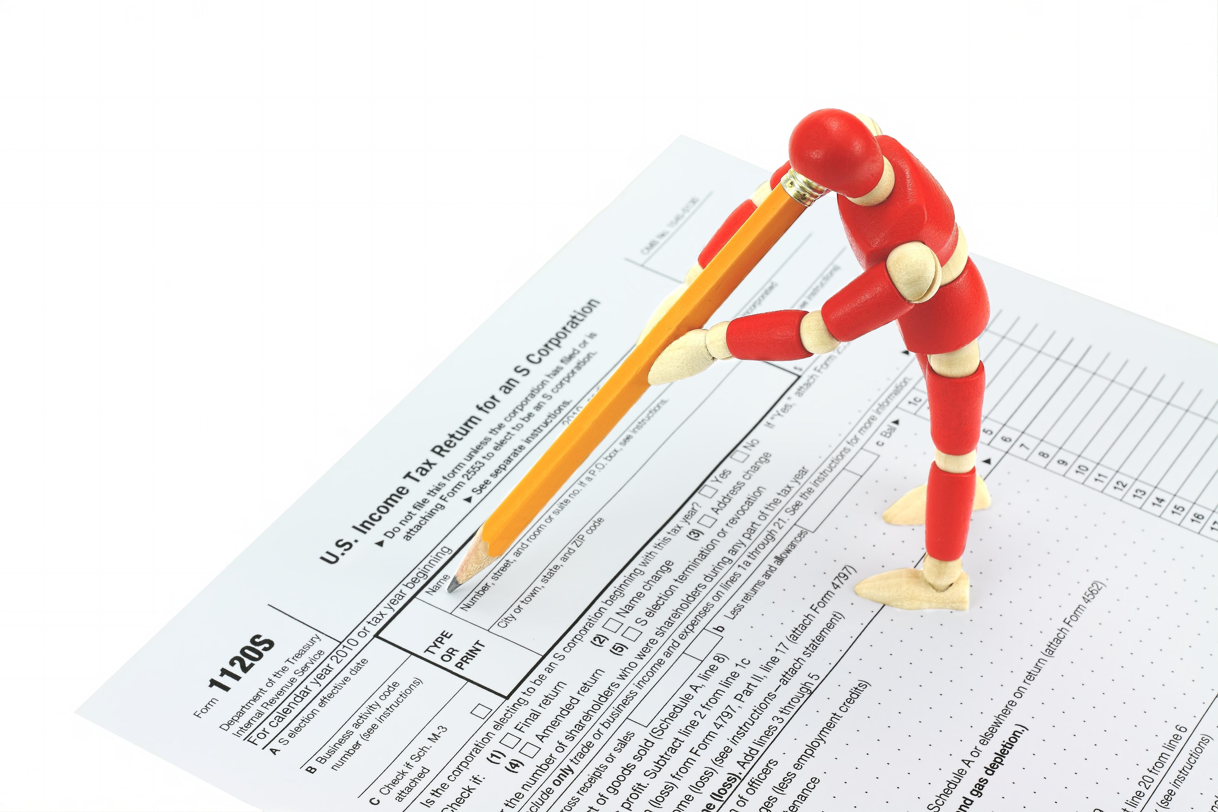 S-Corp Tax Return Prep. - Form 1120S