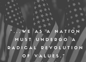 Time For a Revolution of Values