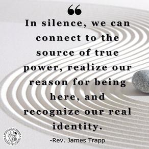 Silence Is Power