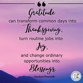 Need an Emotional Uplift? Tap Into Gratitude
