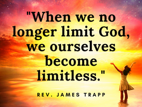 Time to Take the Limit Off God