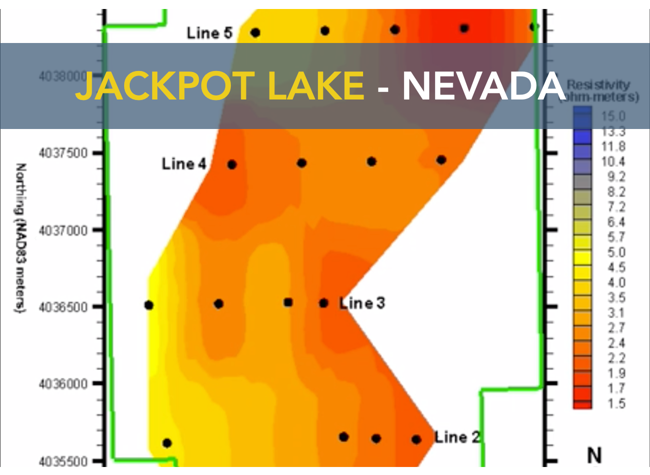 Jackpot Lake - Nevada