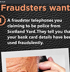 Financial Scam Poster