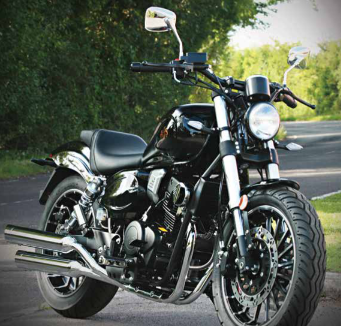 AJS Highway Star 125cc (custom Cruiser)