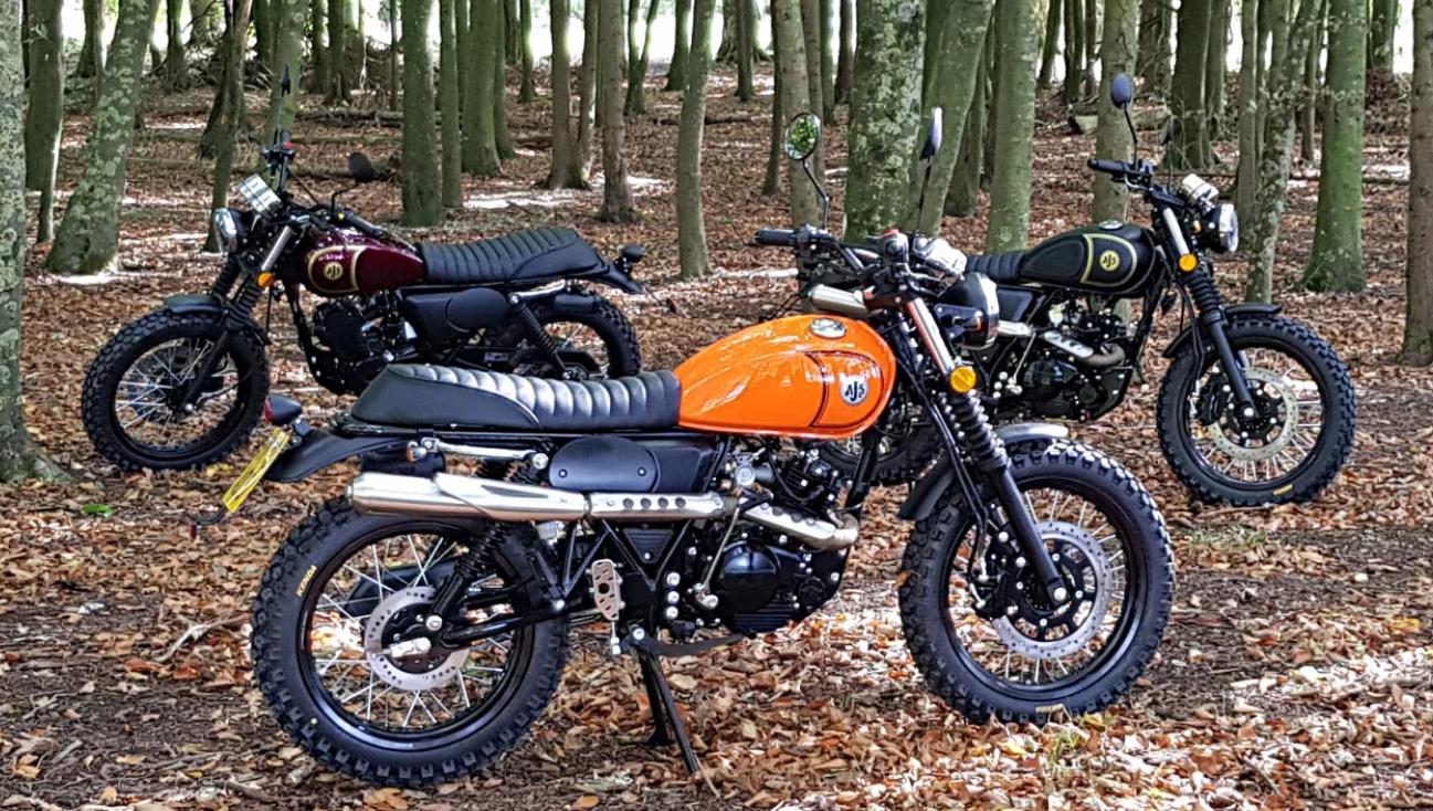 AJS '71 Desert Scrambler 125cc