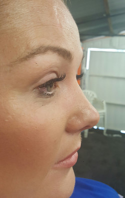 Classic Natural lash extensions