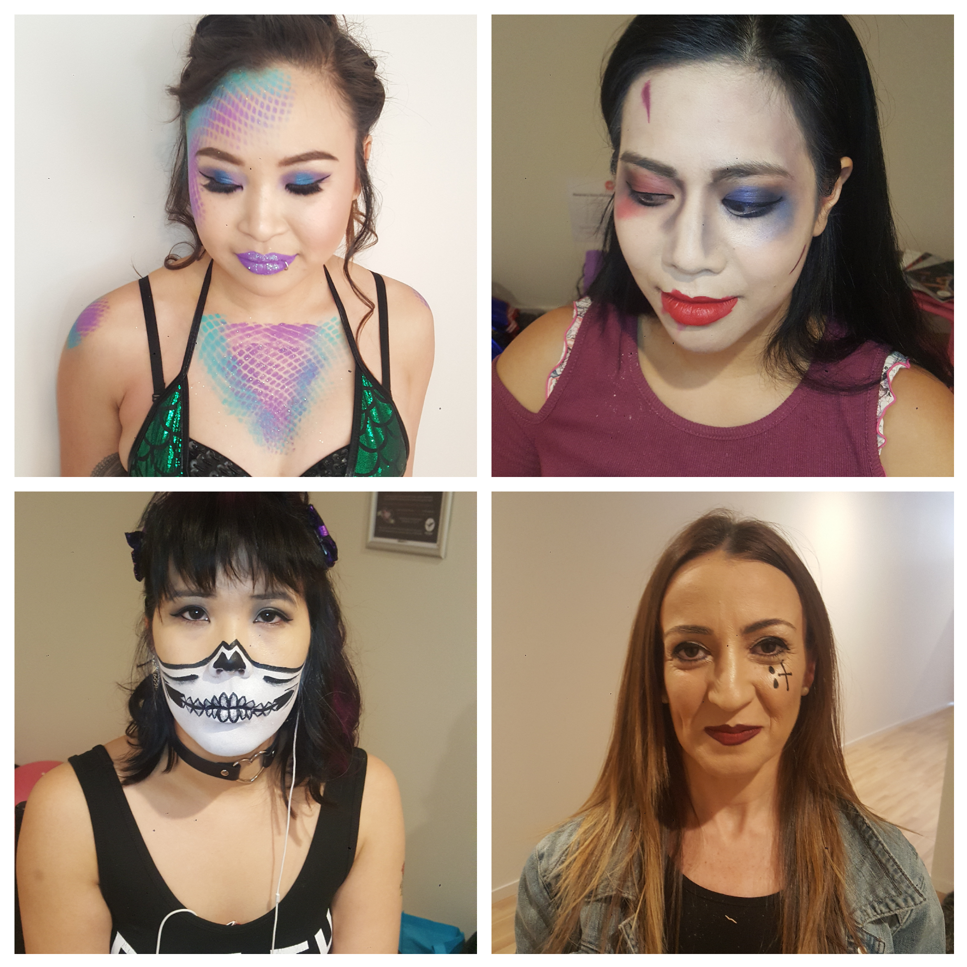 performance stage makeup