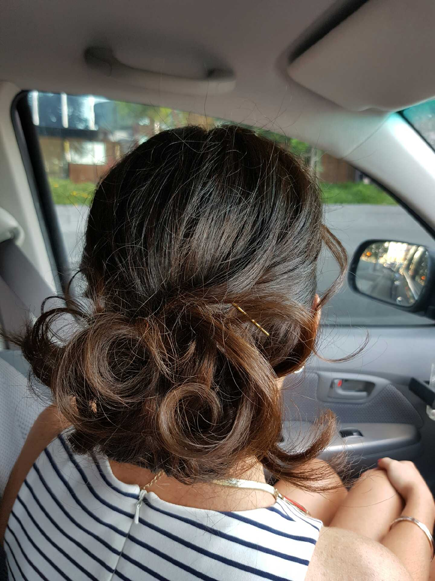 Event hair style