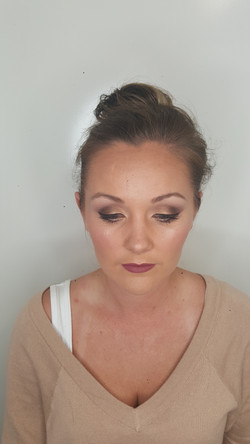 Natural Brown smokey eyes