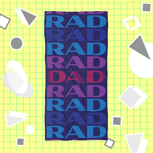 RAD DAD XL Beach Towel