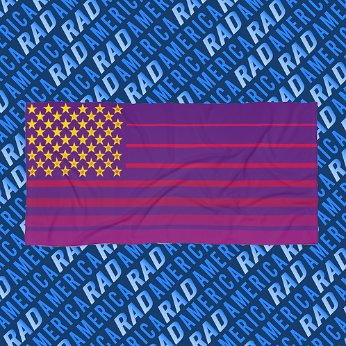 RAD America XL Beach Towel