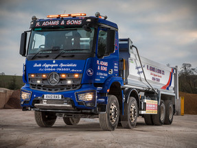 R Adams aims high by going low with new Mercedes-Benz Arocs model