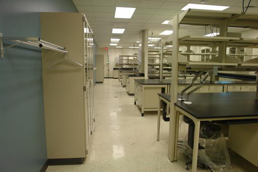 CMU - New Research Bldg - Lab Casework -