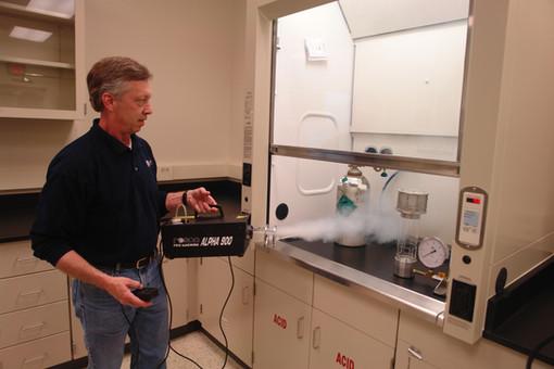 CMU - New Research Bldg - Fume Hood ASHR