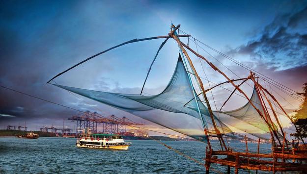 The Kochi Port