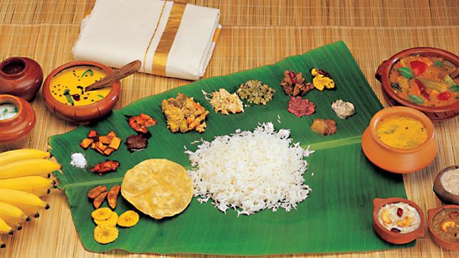 Sadya, An elaborate mouth-watering feast of Kerala